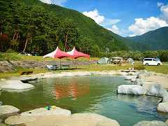 奥飛騨温泉郷オートキャンプ場1