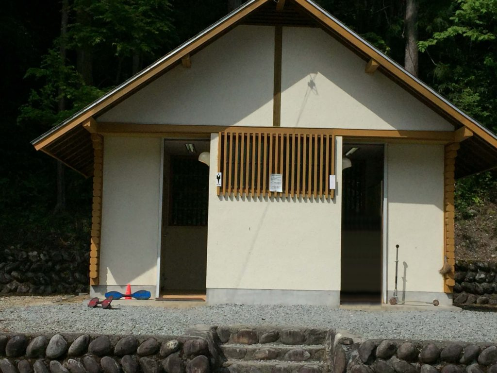 塔の岩AC トイレ
