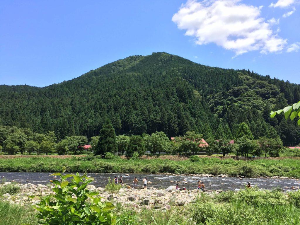 板取川風景
